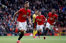 Fernandes impresses as Man United brush aside Watford to go fifth