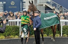 Ted Walsh's Any Second Now stakes Grand National claim with win in Naas