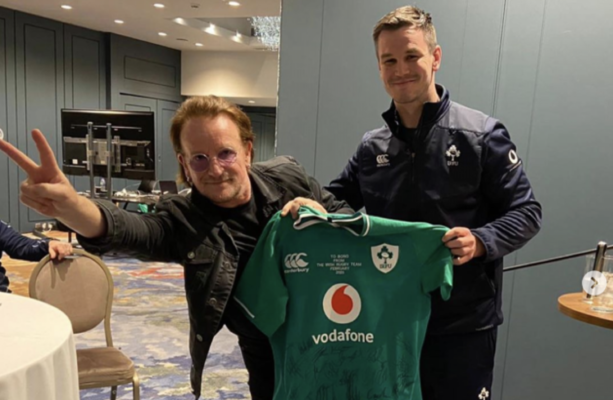 TV Wrap - Bono gets it in the neck as Ireland's problems are exposed in Twickenham horror show