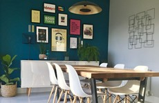 'I love the brightness and the natural light': Yvonne shares her family's colourful dining area