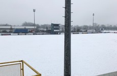Adverse weather claims two of tonight's Airtricity League Premier Division games