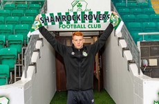 Shamrock Rovers sign striker Gaffney from Salford City