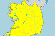 Status Yellow snow/ice warning in place for the country from tomorrow morning