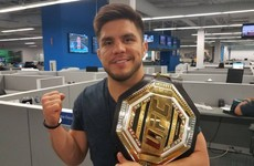 Henry Cejudo to defend bantamweight title against Jose Aldo - reports