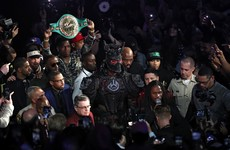 Wilder blames heavy ring-walk costume for defeat to Fury, says he wants rematch