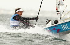 Annalise Murphy makes light of wild conditions to win Race Three of World Championships