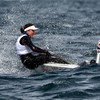 Annalise Murphy storms up to fifth overall as Aoife Hopkins also qualifies for Gold Fleet
