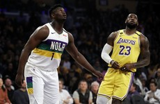 'The kid is special' - LeBron outduels Zion as Lakers claim sixth straight win