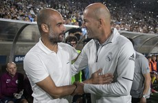 'What he's done in Europe will not be repeated' - Guardiola on Zidane