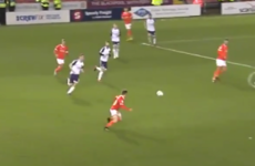 Ireland U21 star Connor Ronan opens Blackpool account with stunning strike