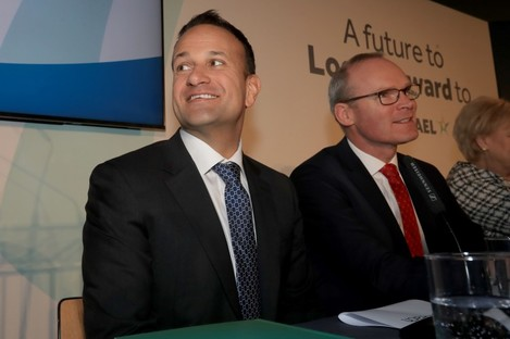 Leo Varadkar spoke to Micheál Martin ahead of the Fine Gael parliamentary party meeting today.
