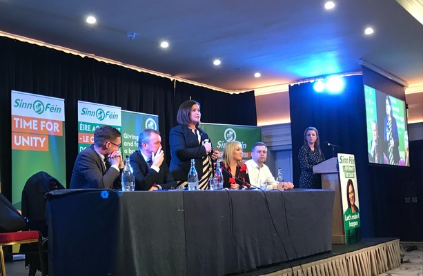 'Blueshirts' and borders: Sinn Féin tells Newry voters that a united Ireland has never been closer