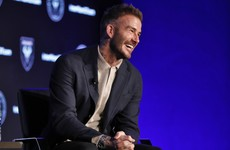 Hitting the celebrity circuit, David Beckham remains the biggest show in town as he prepares for latest role