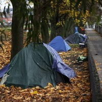 The number of people who are homeless has risen to over 10,000 again