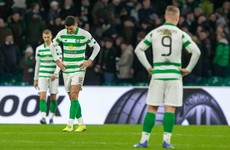 Abject Celtic crash out of Europa League after late collapse against less-than great Danes