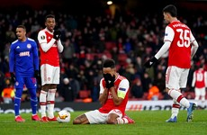 Greek Tragedy: Euro shock as lacklustre Arsenal leak last-second extra-time winner and bomb out
