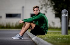 Ciaran Clark's injury has given an Irish teenager a chance to impress at Newcastle