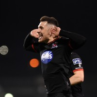Watch: Dundalk's Jordan Flores scores stunning volley in front of record Tallaght Stadium crowd