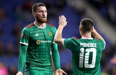 Matt Doherty loving life at Wolves