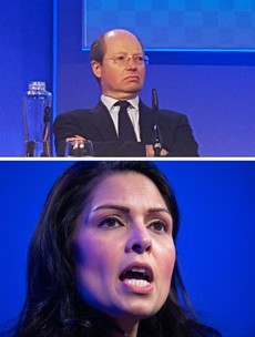 Top UK civil servant resigns and accuses Priti Patel of 'vicious' campaign against him
