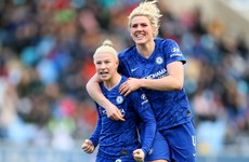 Heartbreak for Irish duo as Bethany England fires Chelsea to cup success