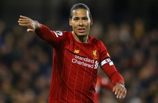 Van Dijk slams Liverpool after 'unacceptable' loss