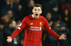 'Nowhere near good enough' - Robertson apologises for shock Liverpool defeat