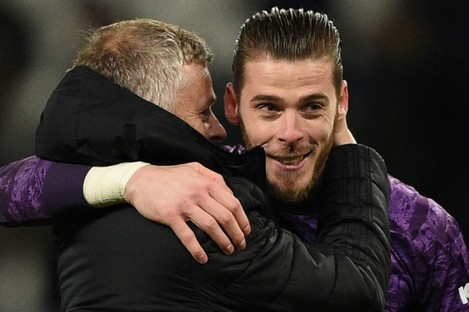 Solskjaer has given his support to De Gea.