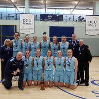 DCU Mercy crowned Women's Super League champions after win over Maree