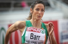 Jessie Barr through to final of 400m hurdles finals in Helsinki
