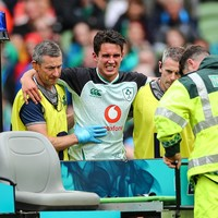 Spate of previous injuries means Carbery can benefit from lay-off