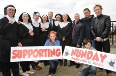 World record attempt for most 'nuns' in one place