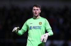 Ireland goalkeeper Kieran O'Hara hit with FA charge over alleged biting incident