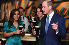 Prince William jokes about 'spreading coronavirus' during Irish visit