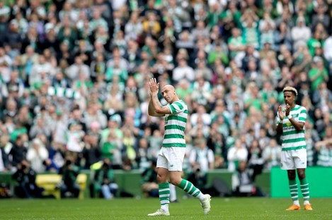 Scott Brown believes Lennon has instilled a Liverpool-type mentality into Celtic.