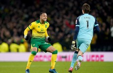 Contrasting fortunes for young Irish strikers in shootout as Norwich stun Spurs in North London