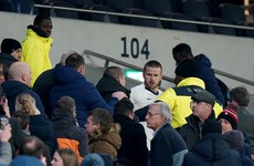 Eric Dier could face FA charge after altercation with Tottenham fan