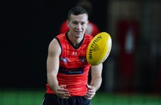 Conor McKenna back to preparations for AFL season following break at home
