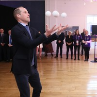 Prince William shows off juggling skills as he celebrates Galway's year as European Capital of Culture