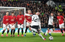 Rooney hopes Irish teen starlet and other youngsters can learn from Man United defeat