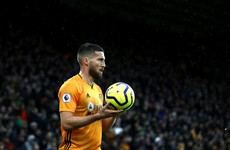 Matt Doherty nominated for Premier League Player of the Month award