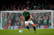 Enda Stevens forced off but not forced out of Ireland's Euro play-off
