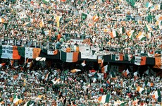 'English newspapers were writing about the Irish fans, wondering why their fans couldn't behave like that'