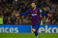 Barca scrape to victory thanks to late Messi penalty