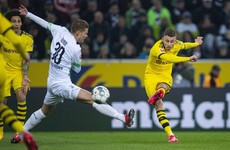 Dortmund claim crucial three points at Borussia Moenchengladbach