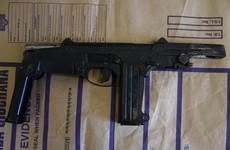Man arrested and machine gun seized by gardaí in Dublin