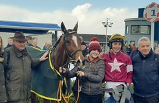 Noel Meade's Cap York records first win over fences to claim Leinster National