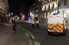 Man 'brandishing knives' shot dead by police in London's Westminster