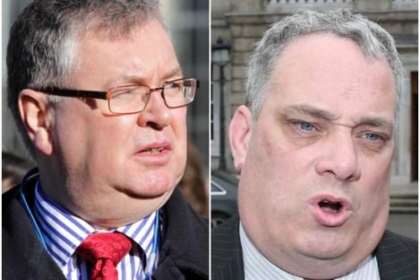 Joe Duffy and Aengus Ó Snodaigh TD.