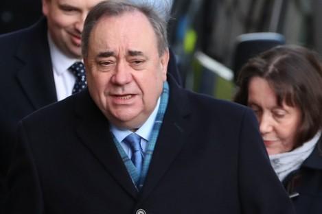 Former first minister of Scotland Alex Salmond.